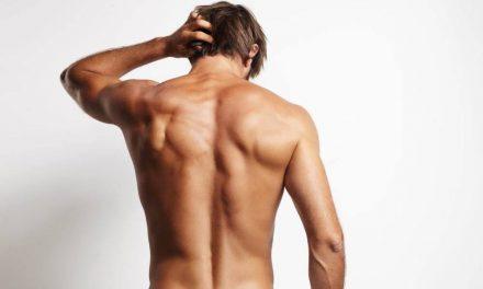 La depilación láser en la espalda